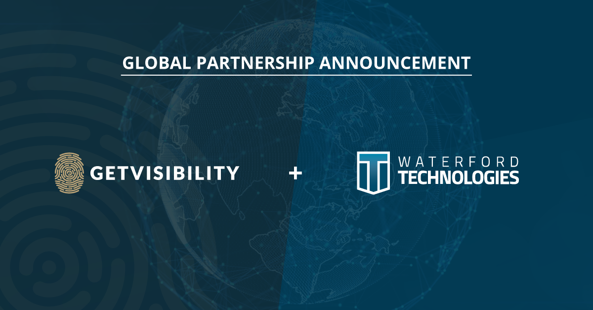 Getvisibility and Waterford Technologies announce partnership