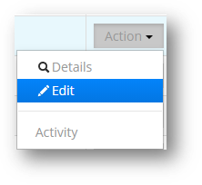 The Archive Activity report shows activity by month.- SISCIN Edit Tab