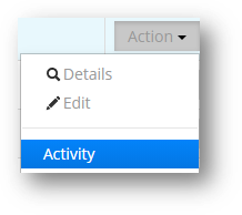 The Archive Activity report shows activity by month. Activity Tag